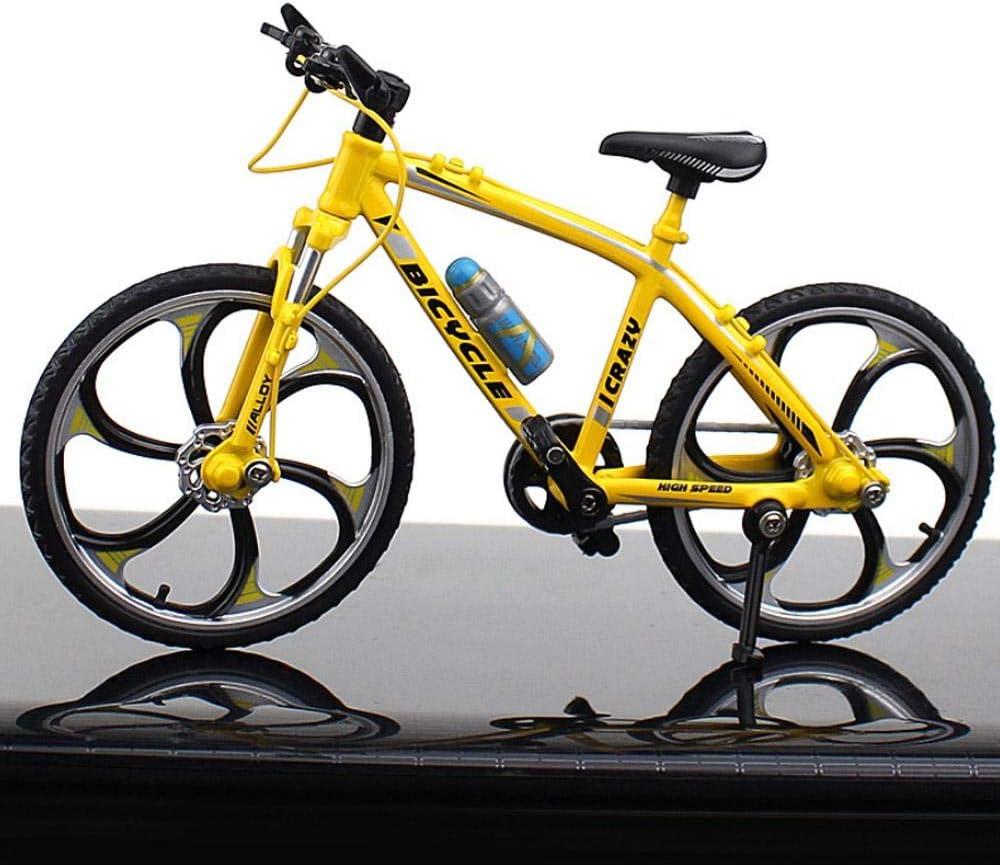 Foonee - Mini bicicleta de aleación con diseño de simulación para bicicleta, para colecciones, mini bicicleta de dedo, bicicleta de dedo, bicicleta de juguete para niños, niñas, juego de regalo: Amazon.es: Hogar