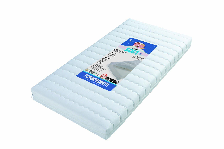 Foppapedretti Soft Materasso, 124x63x12 cm Prezzi offerte