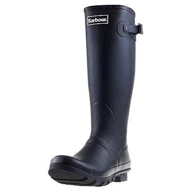18054700 Barbour Mens Bede Winter Mid Calf Snow Waterproof Rain Wellington Boots -  Black - 7-