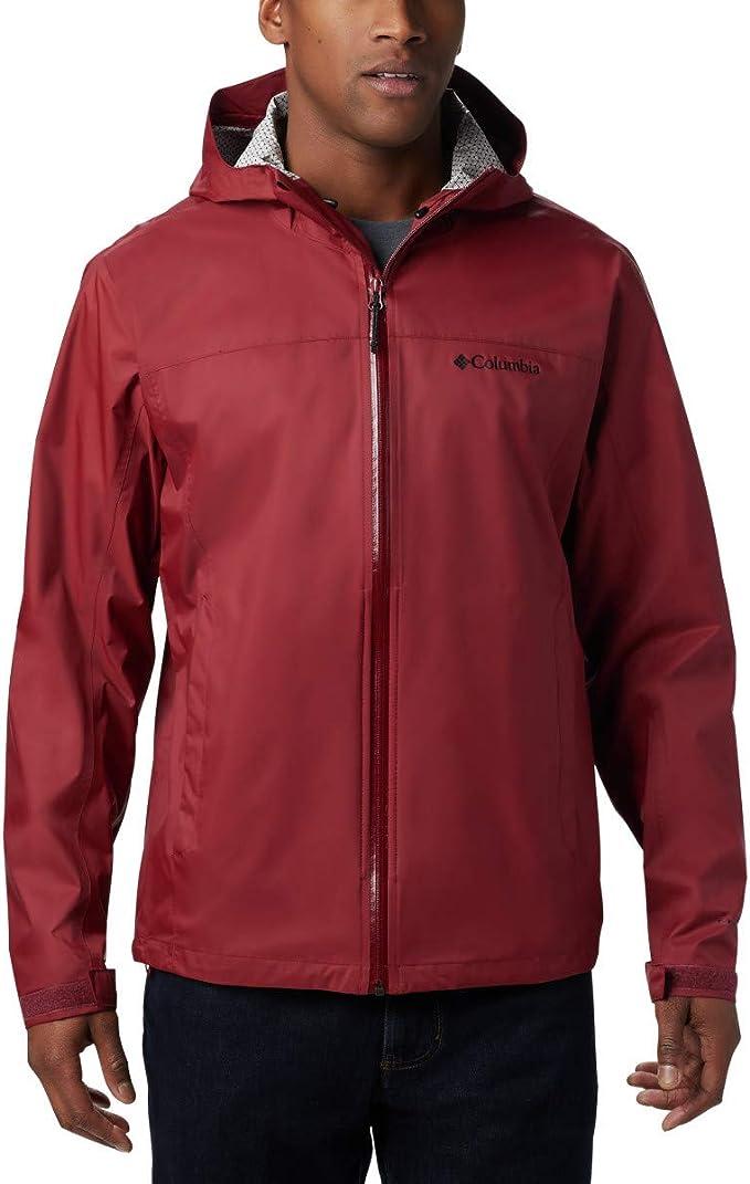 Columbia 哥伦比亚 Evapouration Omni-Tech防水速干 男式冲锋衣 L码4折$39.89 海淘转运到手约¥312