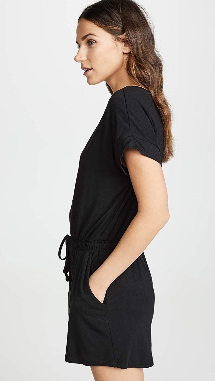 932576b7342 Amazon.com  Z SUPPLY Women s Blaire Sleek Jersey Romper  Clothing