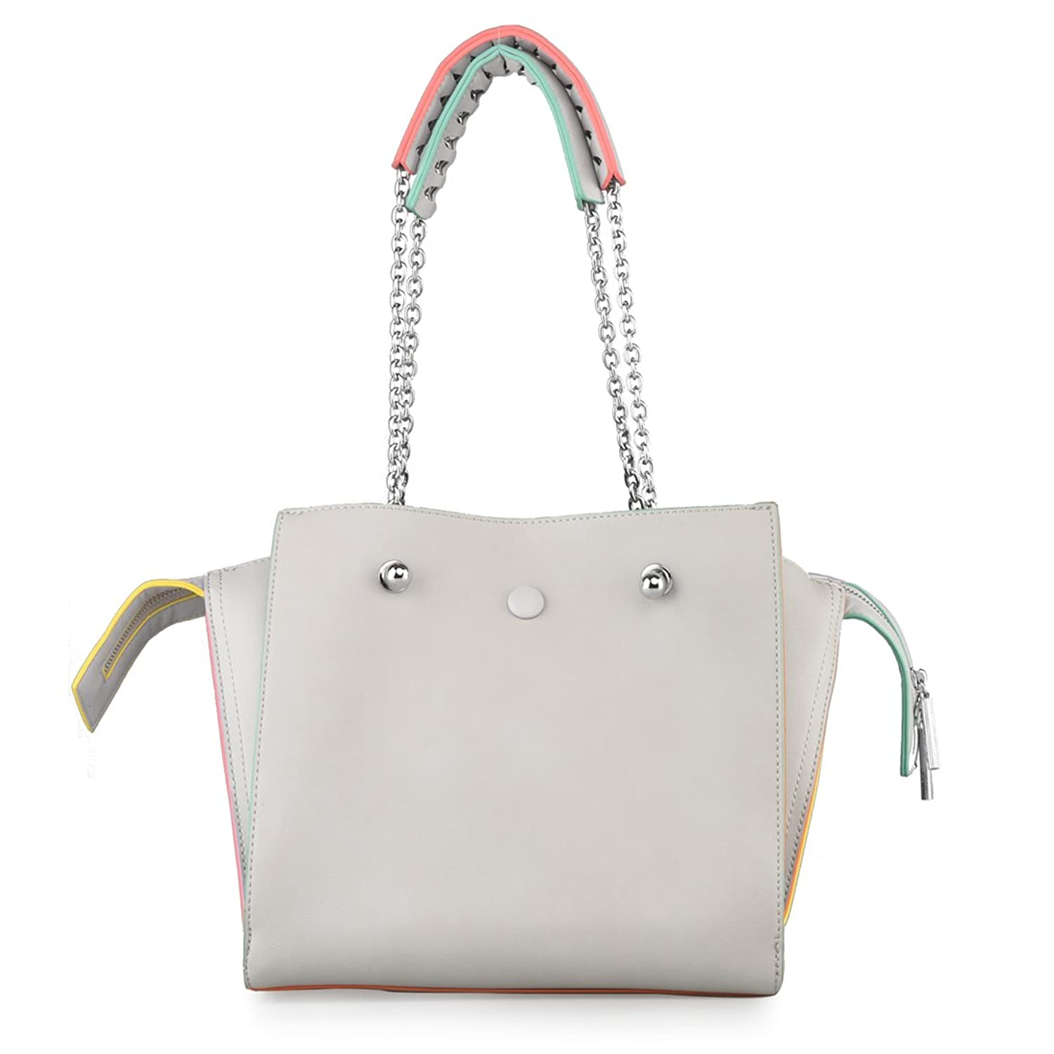 7a928686ee0c VERABELLE 2018 new Large Capacity Women s Ladies Casual Daily Purse Smiling  Face chain strap Shoulder Tote Shopper Handbag Bag