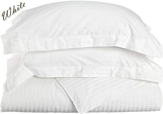 All Bedding Sets Item Choose Size /& Item Silver Light Gray Stripe 1000 TC