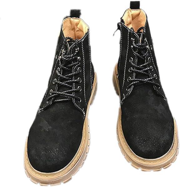 Zapatos De Trabajo para Hombres Entrenadores De Seguridad Resistentes Al Agua Al Aire Libre Otoño Invierno Botines Desierto Botas Altas
