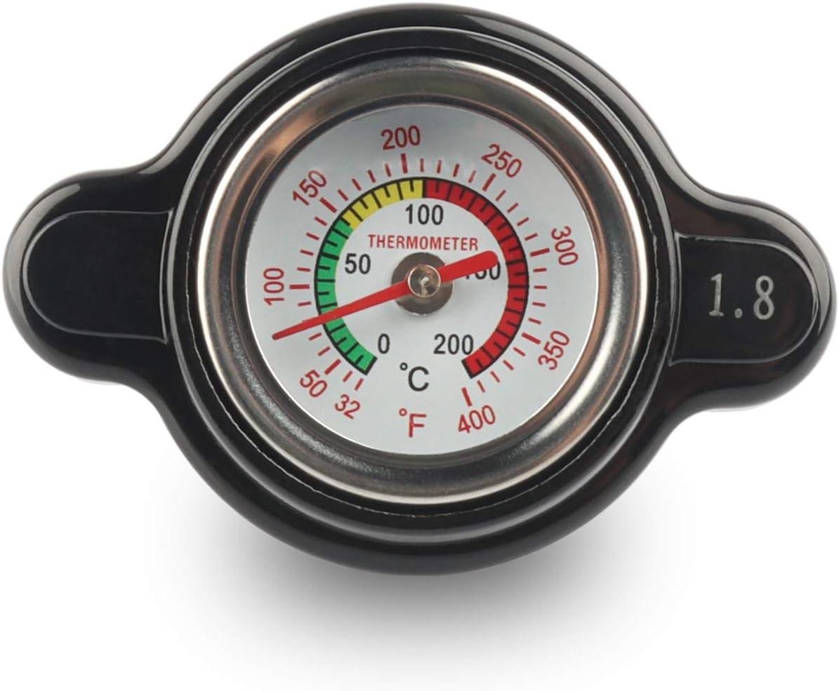 High Pressure Radiator Cap with Temperature Gauge 1.8 Bar for Honda CRF250X 2004