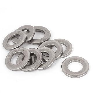 Tono de plata 316 de acero inoxidable Arandela plana de 1/2 ...