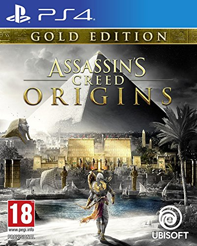 Assassin's Creed Origins Gold Edition (PS4) (UK IMPORT)