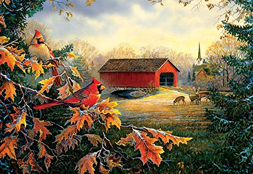 Crossing at Red River 2000 Piece Jigsaw Puzzle by SunsOut