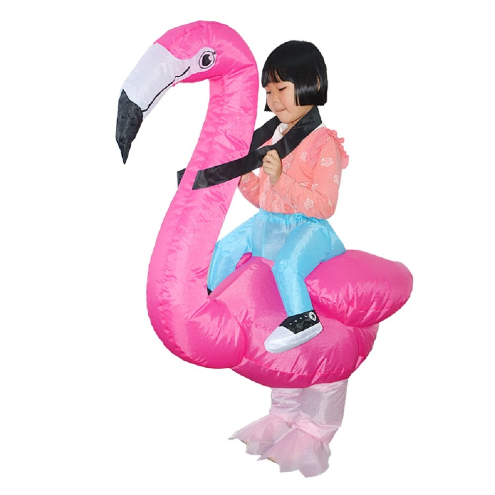 Amazon.com: yoweshop Kids hinchable de flamenco disfraz ...