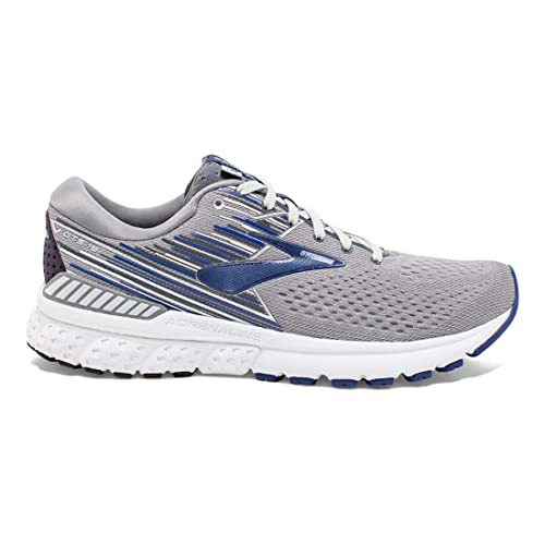 691727d64be Brooks Men s Adrenaline GTS 19 Grey Blue Ebony 9.5 EE US  Amazon.co.uk   Shoes   Bags
