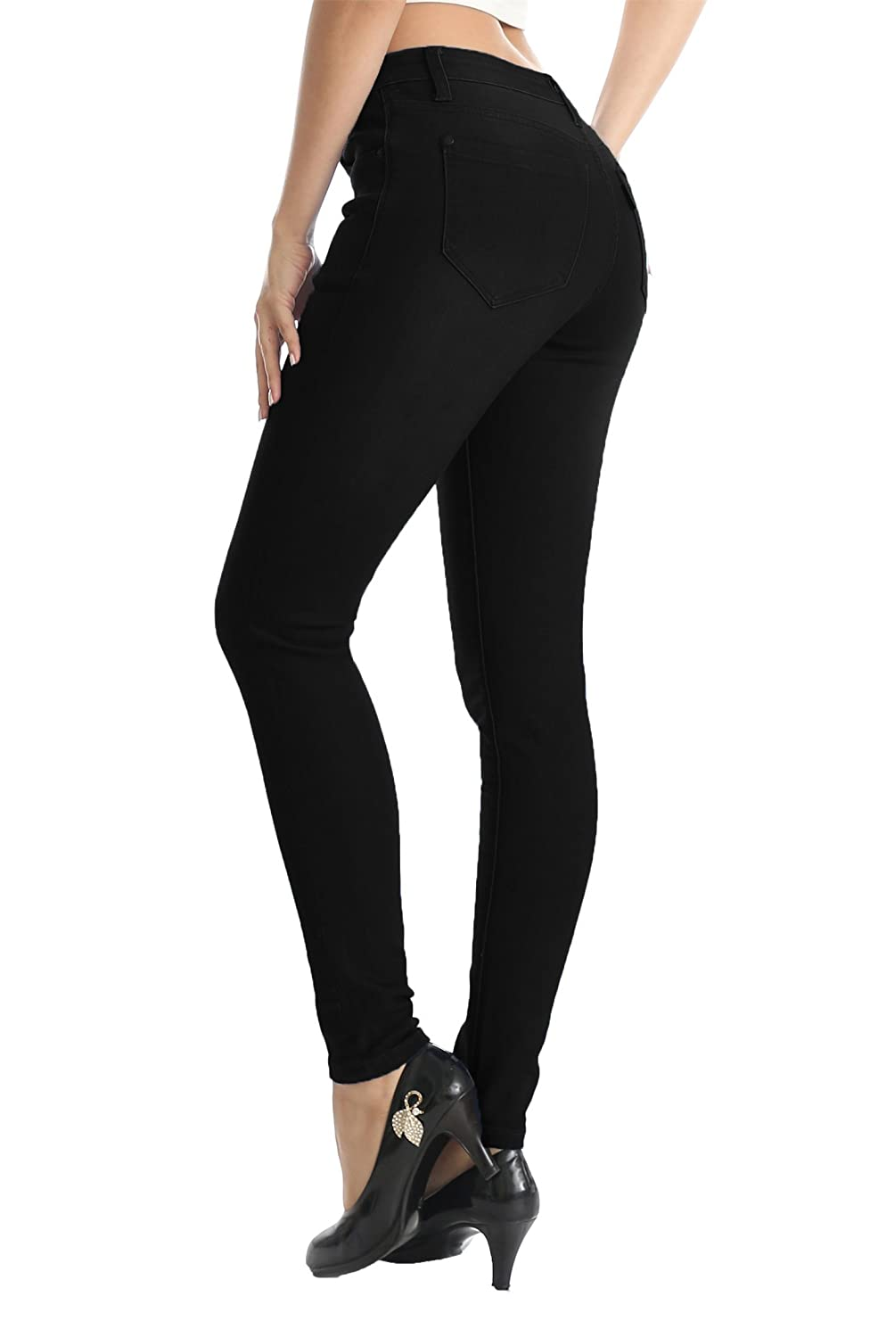 2ec143f135d ... ZADDIC womens stretch skinny jeans made of excellent elastic fabric  that is soft to touch and comfortable for everyday wear. Butt Lift   Slim  Cut Design ...
