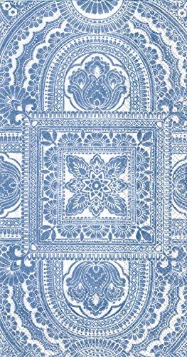 Celebrate the Home Classique 3-Ply Paper Guest Towels/Banquet Napkins, Blue, 16-Count