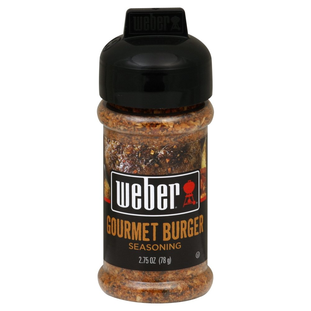 Weber Grill Seasoning Gourmet Burger, 2.75-Ounce