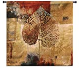 Fine Art Tapestries Abstract Autumn Large Wall Tapestry 3570-WH 52 inches wide by 50 inches long, 100% cotton