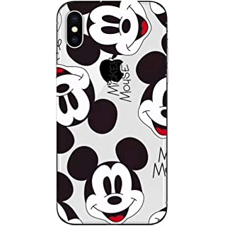 Carcasa Oficial de Disney Mickey Patrón Clear para iPhone XR ...