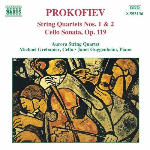 Prokofiev: String Quartets 1 & 2 / Cello ()