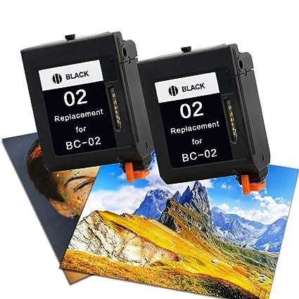 Cartucho de Tinta Compatible con Canon BC-02 para Impresora ...