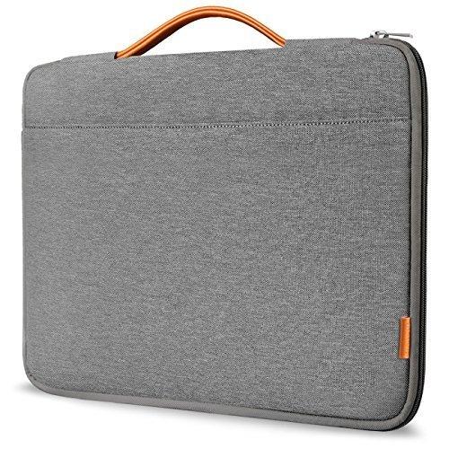 "Inateck 13-13.3"" Sleeve Case Cover Protective Bag Ultrabook Netbook Carrying Protector Handbag for 13"" Macbook Air/MacBook Pro (Retina), Dark Gray (LB1302)"