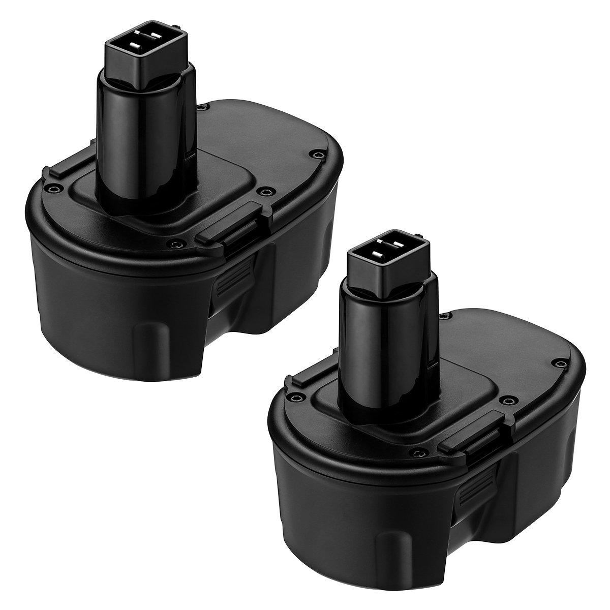 FirstPower 3.5Ah Dewalt 18V XRP NI-MH Replacement Battery for DC9096 DC9099 DW9096 DW9095 DE9503 Dewalt 18volt Cordless Power Tools - 2Packs (2 Pack)