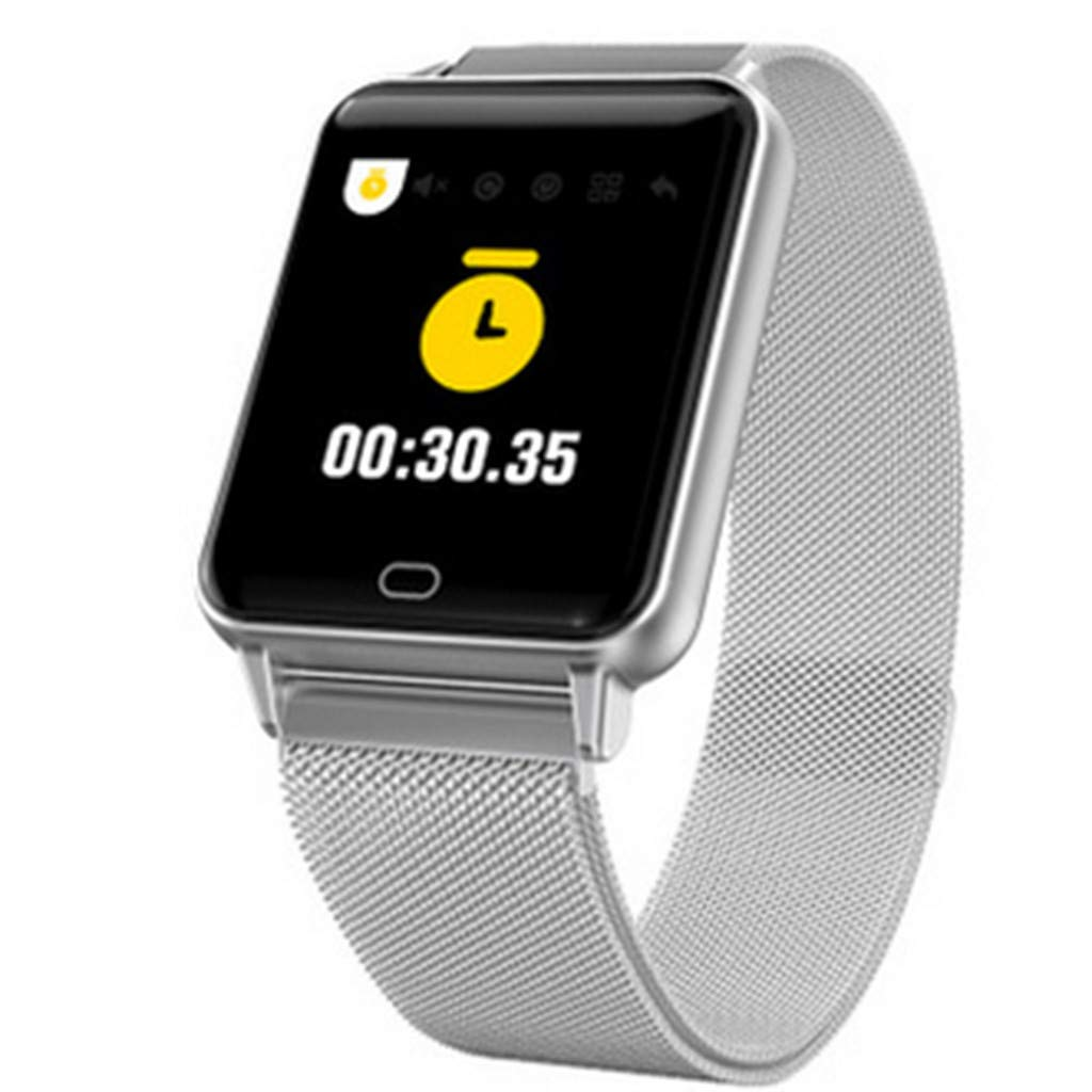 YEZIJIN Smart Watch Android iOS Sports Fitness Calorie Wristband Wear Smart Watch Under 40 Dollars by YEZIJIN Men's Watch (Image #1)