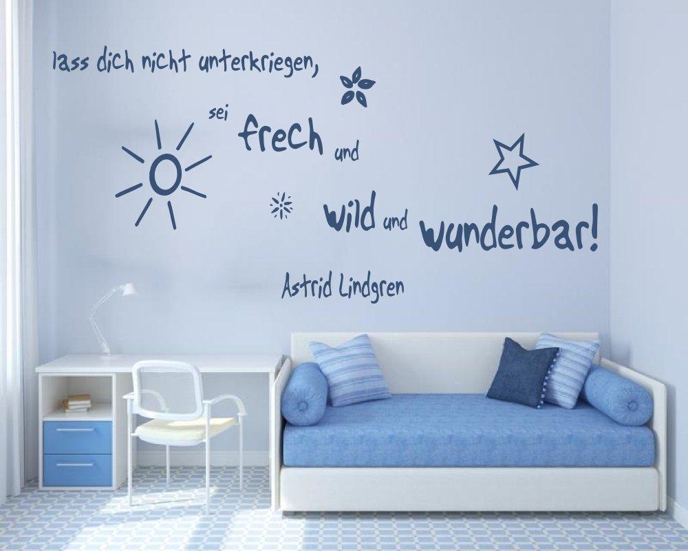 XL Wandtattoo fürs Kinderzimmer 68143-120x58 cm, Zitate ~ Zitate ...
