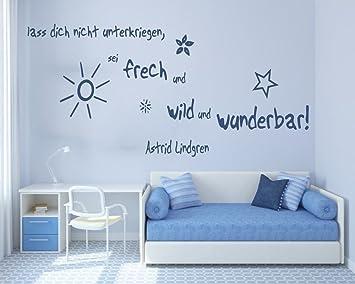 Prächtig XL Wandtattoo fürs Kinderzimmer 68143-120x58 cm, Zitate ~ Zitate &TM_61