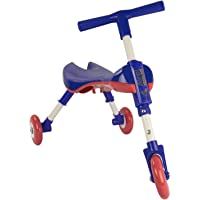 Airel Correpasillos Bebé Plegable   Triciclo Sin Pedales Infantil   De 1 a 3 años, Niños, Azul Marino, Talla Única