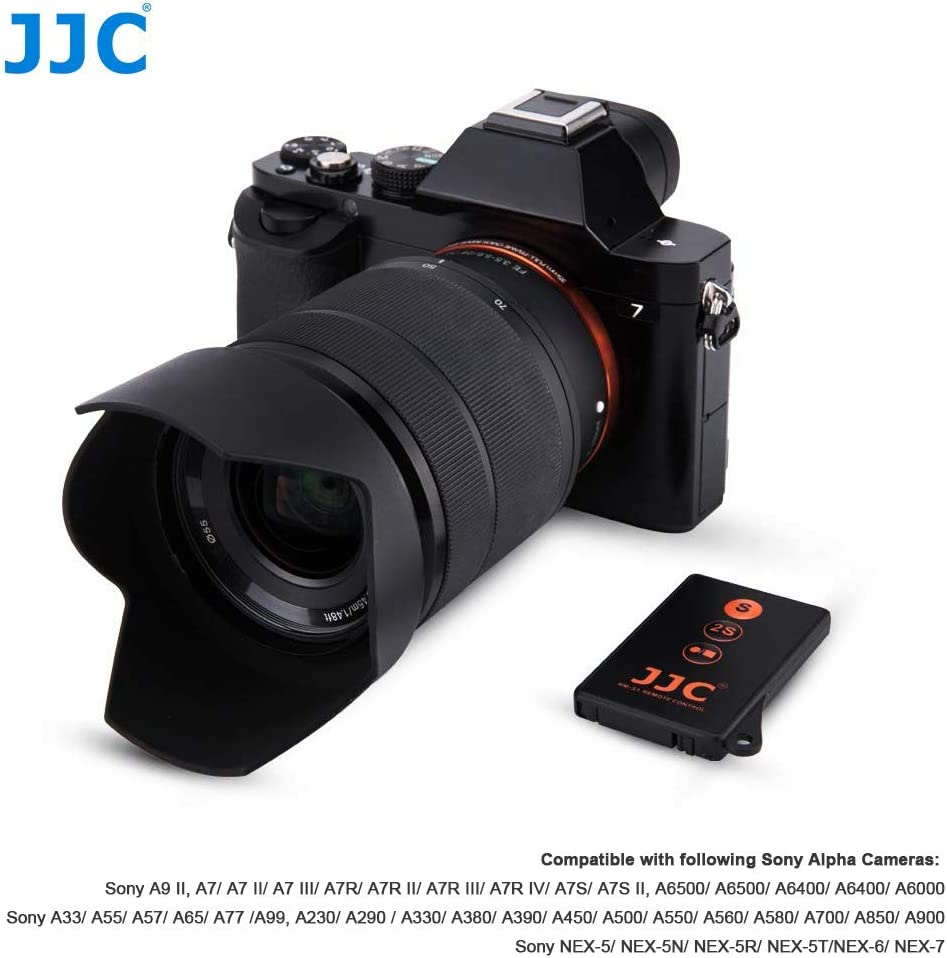 JJC Wireless IR Disparador Remoto Para Alpha NEX A7 Series Kameras ...