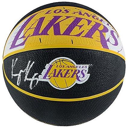bd634d7824b Signed Kyle Kuzma Ball - Courtside FANATICS - Fanatics Authentic Certified  - Autographed Basketballs