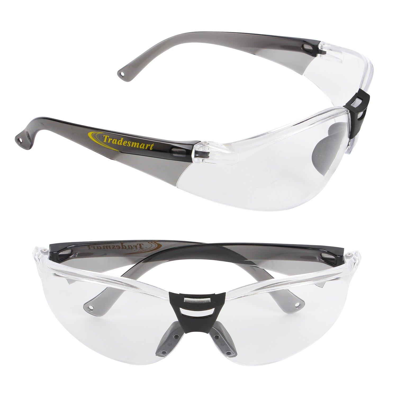 Tradesmart - Juego de Gafas de Seguridad y Tapones para los oídos ...