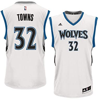 sale retailer 7a4ad c197a Amazon.com: Youth Karl-Anthony Towns Minnesota Timberwolves ...