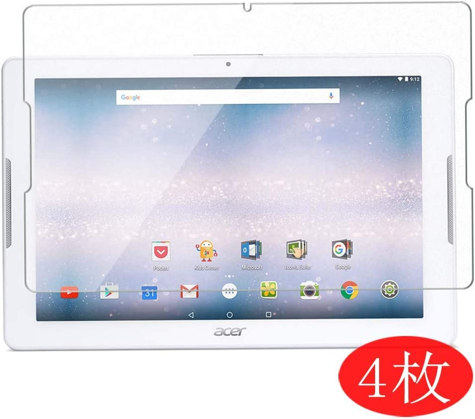 【4 Pack】 Synvy Screen Protector for Acer Iconia One 10 B3-A30 11.6