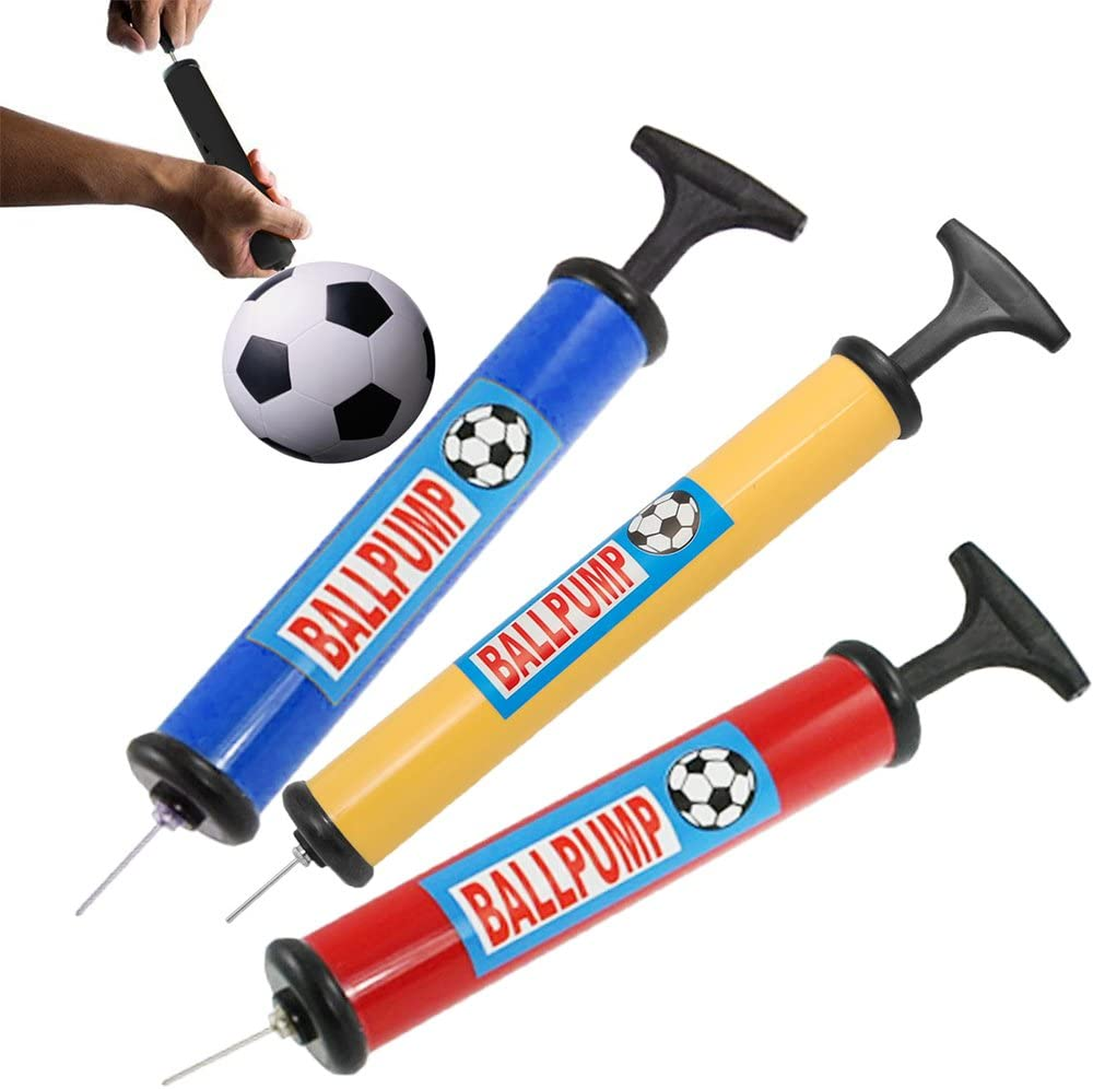 Ball Air Inflation Tool Blowing Up Balls for Football Basketball Soccer Volleyball Toyvian 50pcs Inflating Pump Needle Silver