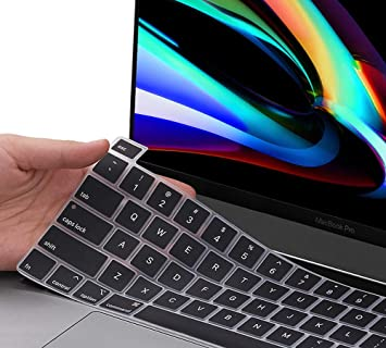Film Pour Clavier Durable Dustproof Slim Keyboard Cover Dustproof Keyboard Flim Skin Stickers Suitable for MacBook 15 Inch 2016 Release -One/_Color