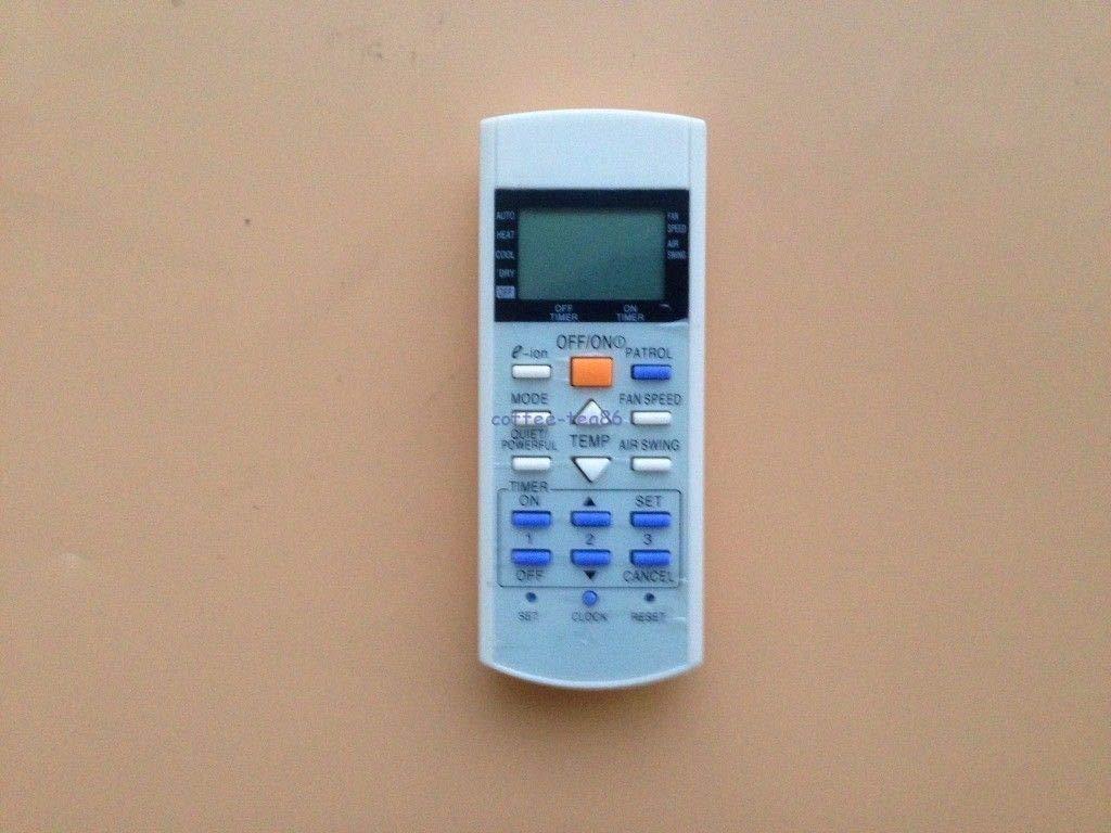 FidgetFidget Remote Control for Panasonic A75C2913 CS-E21EKU CS-E9EKU CU-E12E Air Conditioner