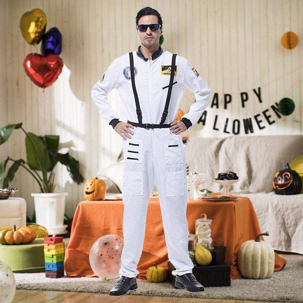 Disfraz Astronauta para Hombre, Mono Traje Espacial Halloween para ...