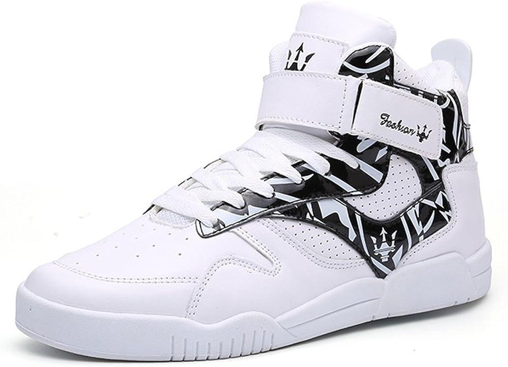 MUOU Zapatillas Hombres Deporte Running Zapatos para Correr Sneakers Deportivas Casual Zapatos para Correr Zapatos Altos