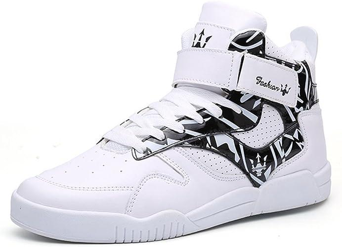 MUOU Zapatillas Hombres Deporte Running Zapatos para Correr Sneakers Deportivas Casual Zapatos para Correr Zapatos Altos: Amazon.es: Zapatos y complementos