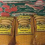 The Original Maui Hawaii CookKwees Cookies (Shortbread 3 pack)