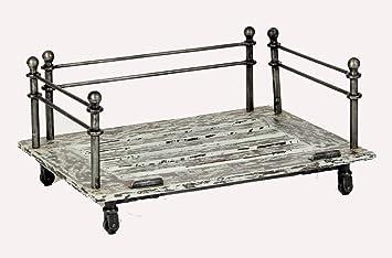 medium vintage industrial elevated raised dog bed frame - Dog Bed Frame