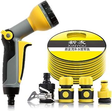 Hengtongtongxun Pistola de agua de alta presión para lavado de autos, boquilla para manguera de jardín, juego de herramientas para autos Último modelo (Size : 30m): Amazon.es: Bricolaje y herramientas