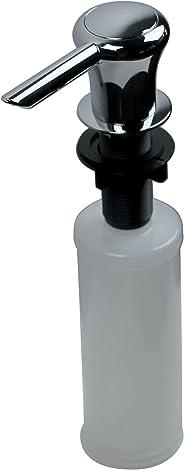 Ultra Faucets UFP-0011 - Dispensador de jabón o loción para fregadero de cocina, chapado en cromo