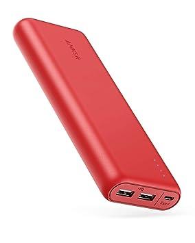 Anker PowerCore 20100-20000mAh Cargador portatil de Ultra Alta Capacidad con Potente Salida 4.9A, tecnología PowerIQ para iPhone, iPad y Samsung ...