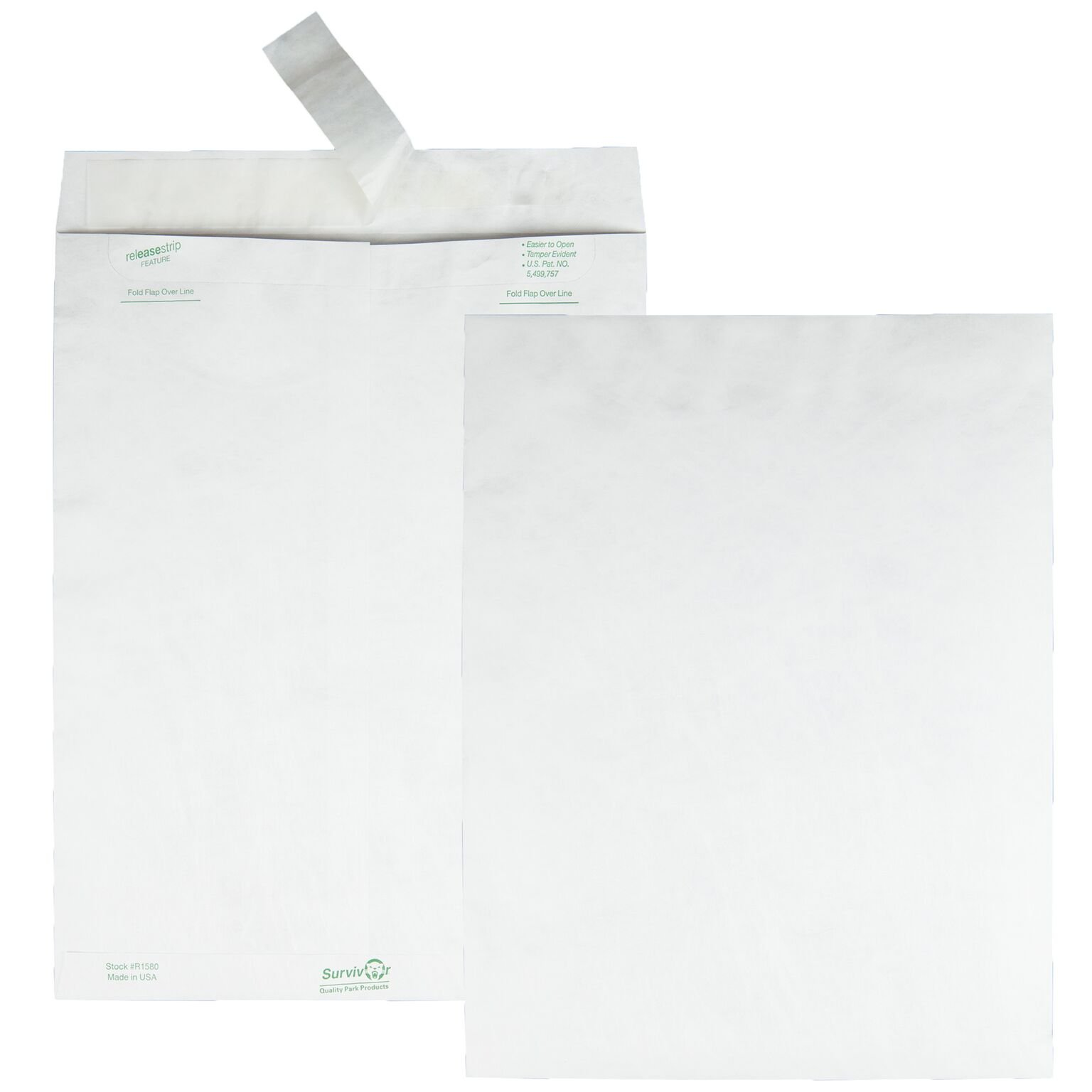 Quality Park TYVEK and Tear-Resistant Envelopes, 10 x 13 inches (R1582)