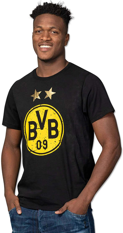 Borussia Dortmund Camiseta con el logo, Hombre