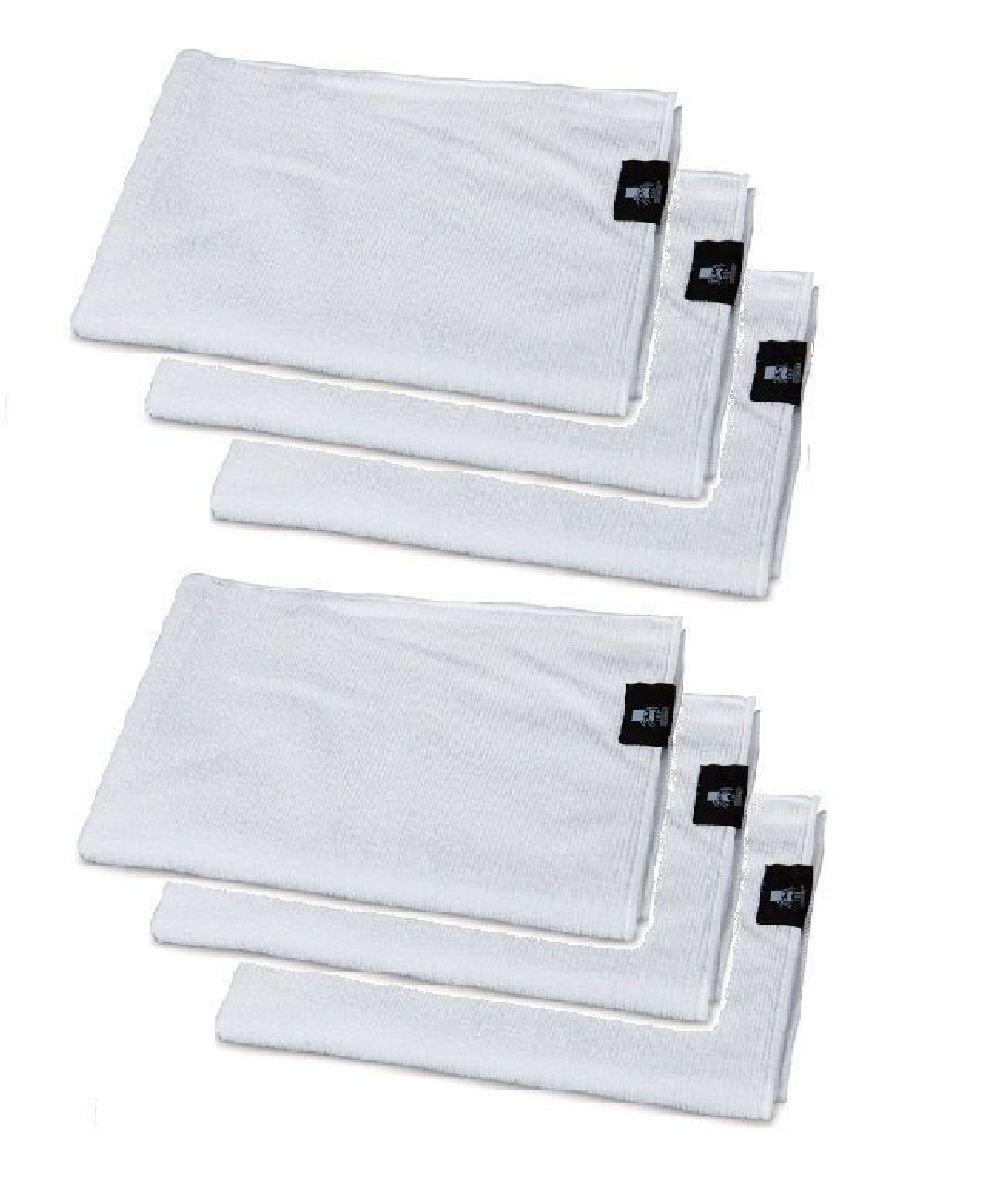 Microfiber White Absorbent Grooming Towel Bulk Lot Packs