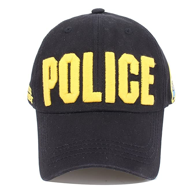 Vankerful NYPD Department Hat Police Embroidered Hats Adjustable Baseball  Caps Unisex Black Yellow  Amazon.in  Clothing   Accessories 0bbe7f5f0c81
