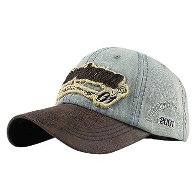 Gorras de Hombre Beisbol Algodón Unisexo Gorra de Deporte ...