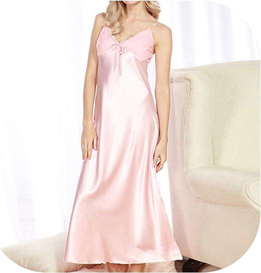 Satin Chemise Full Ankle Length Ladies Womens Silk Nightdress Nightie PLUS SIZE