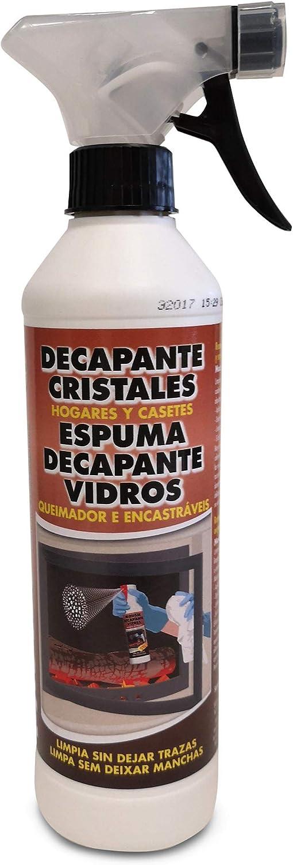 PYRO FEU Decapante Fuerte Para Limpiar Cristales De Chimeneas ...